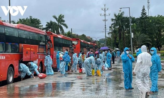 越南单日新增新冠肺炎确诊病例继续下降