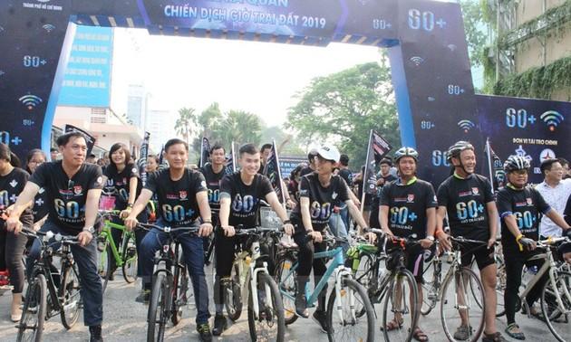 Le Vietnam répond à la campagne Heure de la Terre