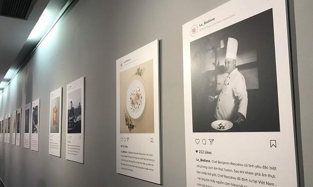 """Exposition: """"Toque blanche"""", la gastronomie française à déguster avec les yeux"""