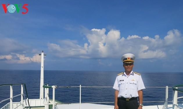 Ausgezeichneter Kommandeur auf Truong Sa