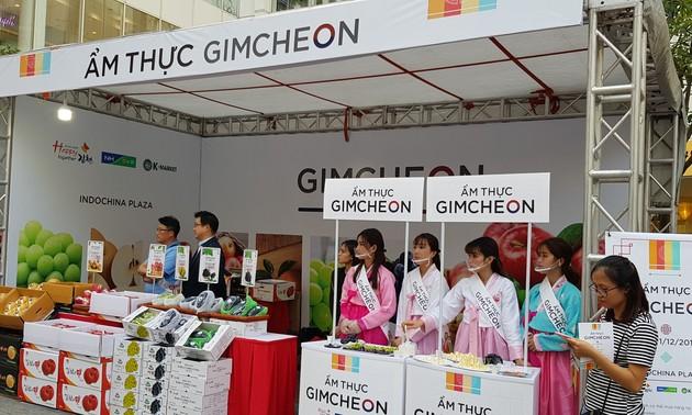 Werbung für Kultur, Kochkunst und Landwirtschaftsprodukte Südkoreas in Hanoi