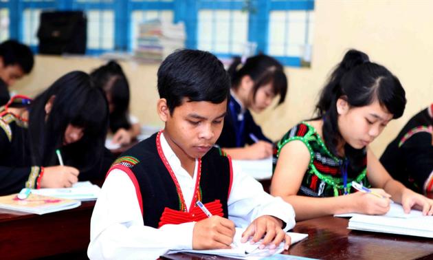 Effiziente Förderpolitik in Erziehung in Tay Nguyen