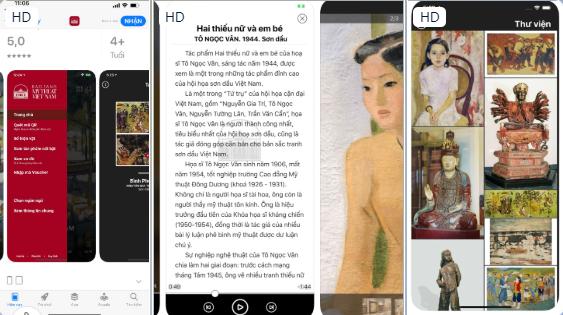 Das Kunstmuseum Vietnams präsentiert Multimedia-App iMuseum VFA