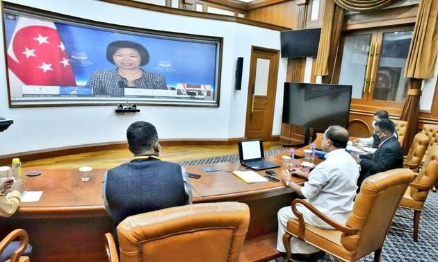 Indien und Singapur fördern strategische Partnerschaft