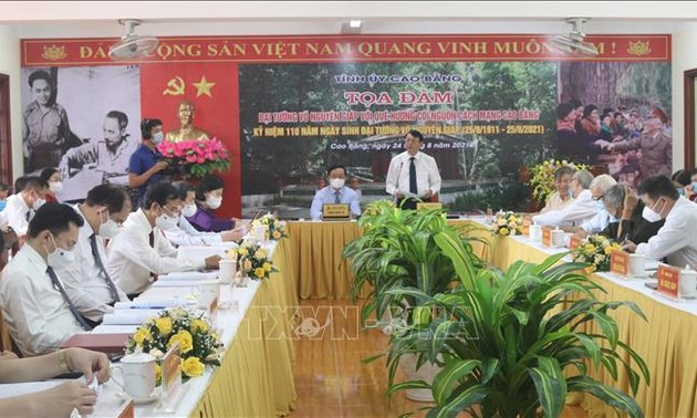Zahlreiche Aktivitäten zum 110. Geburtstag von General Vo Nguyen Giap