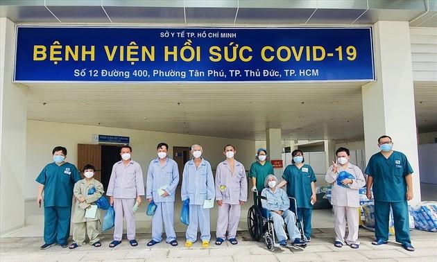 In Vietnam sind fast 271.000 Covid-19-Patienten genesen