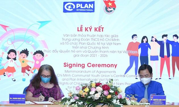 Plan International Vietnam setzt Aktivitäten zur Förderung der Rechte von Kindern und Jugendlichen fort