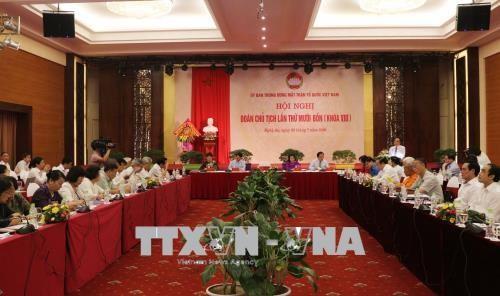 Konferenz des Präsidiums der Vaterländischen Front Vietnams