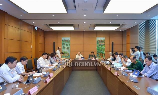 Parlamentssitzung: den Fünfjahresplan 2016-2020 gut zu verwirklichen