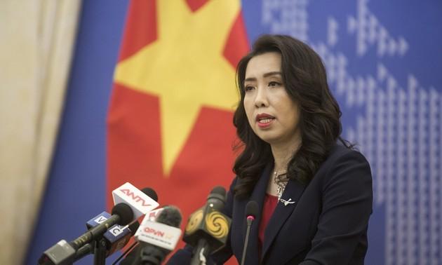 Vietnam protestiert gegen Handlungen, die die Souveränität im Ostmeer verletzt