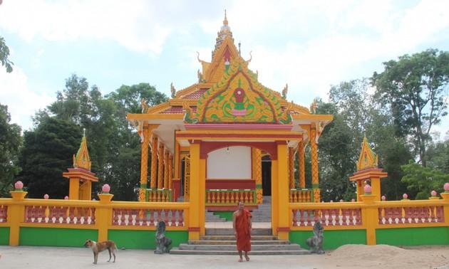 Soc Trang: Erhaltung historischer Werte der Nam Tong-Pagoden der Khmer