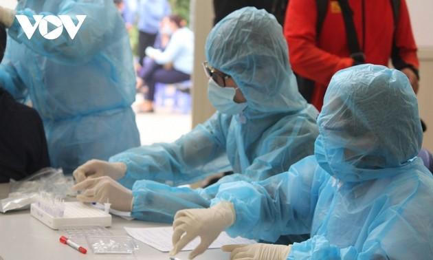 Vietnam bestätigt 8390 neu Covid-19-Infektionsfälle am Dienstag