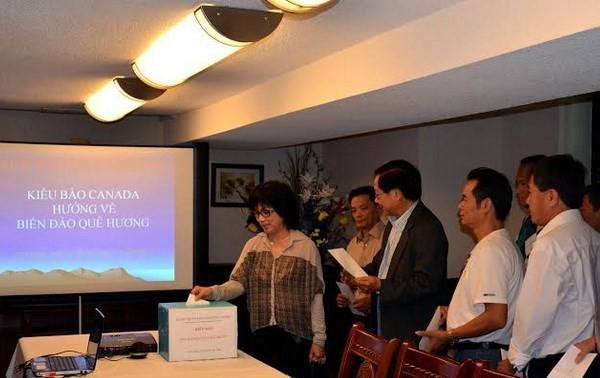 Diaspora Vietnam di Kanada berkiblat ke laut dan pulau Tanah Air
