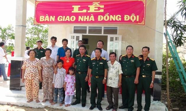 Provinsi Soc Trang melaksanakan dengan baik kebijakan balas budi terhadap orang-orang yang berjasa kepada Tanah Air