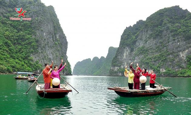 Mata pencaharian berkesinambungan yang dikaitkan dengan usaha mengkonservasikan kebudayaan desa nelayan di Teluk Ha Long