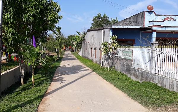 Kehidupan Baru di Satu Kecamatan di Daerah Tay Nguyen