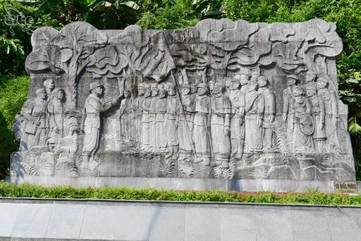 Situs peninggalan sejarah nasional istimewa hutan Tran Hung Dao – Tempat lahirnya Tentara Rakyat Vietnam