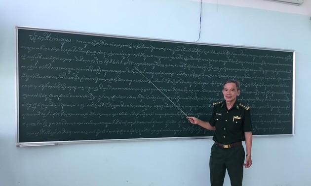 Veteran Perang Tran Quang Du – Penyebar Benih dalam Hubungan Persahabatan Vietnam-Kamboja