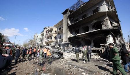Пострадавшими двух взрывов в Сирии стали более 120 человек