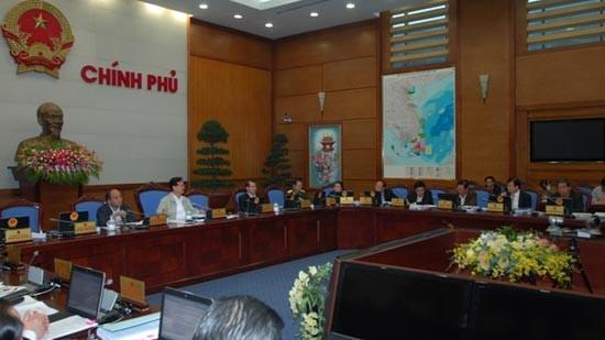 Мартовское очередное заседание вьетнамского правительства