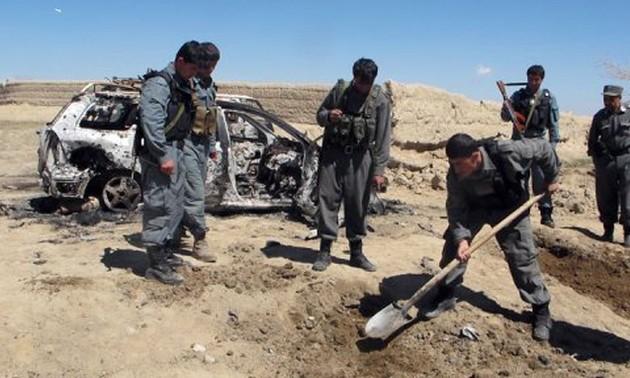 Жертвами бомбардировки НАТО на юге Афганистана стали полицейские и мирные жители