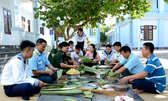Тэт в островном уезде Чыонгша