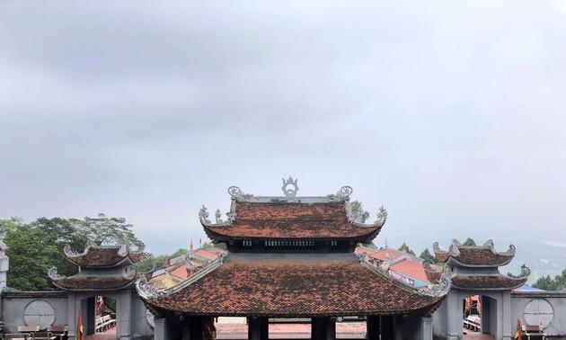 В храм Као на горе Анфу