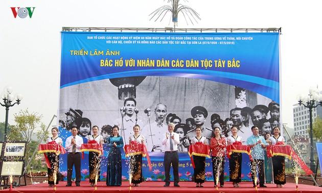 Открылась фотовыставка «Дядюшка Хо и жители провинции Шонла»
