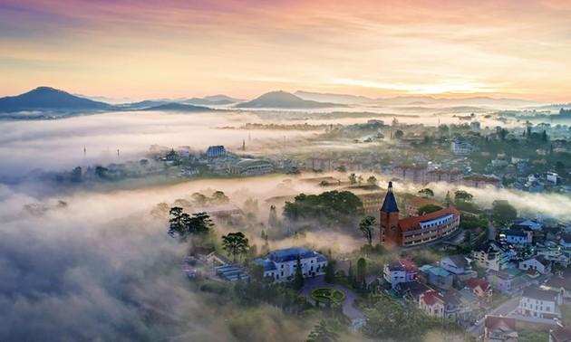 Вьетнам с высоты птичьего полёта