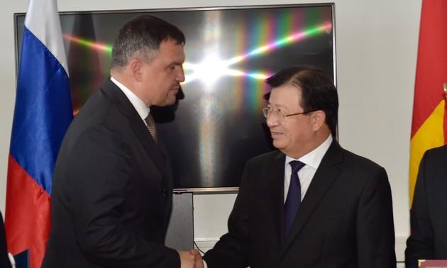 Вьетнам и Россия придают важное значение двустороннему сотрудничеству в области нефти и газа