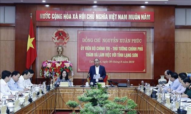 Глава правительства провёл рабочую встречу с руководством провинции Лангшон