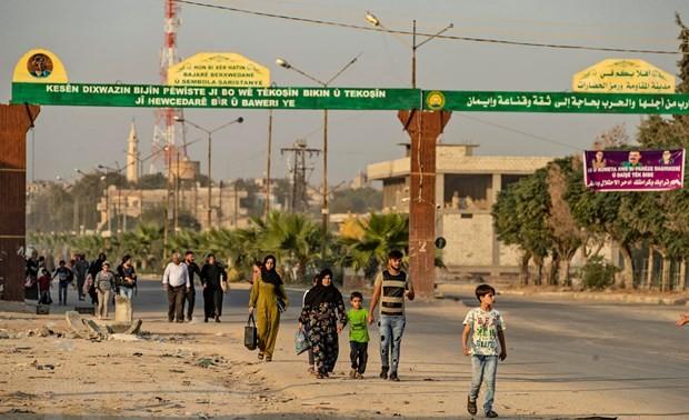Турецкие войска зашли на сирийскую территорию