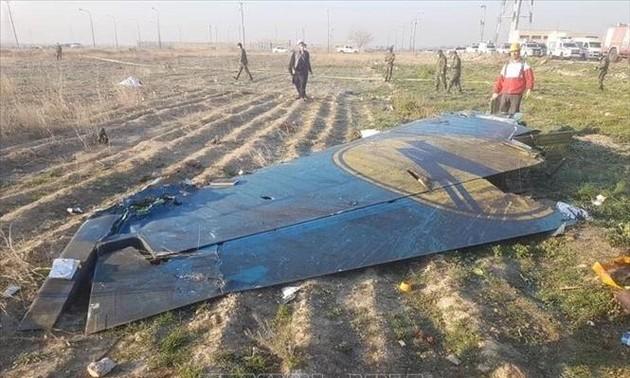 Организация гражданской авиации Ирана опубликовала второй предварительный отчет о крушении украинского самолёта