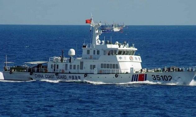 Китай совершает неоправданные действия «в небывало большом количестве» в районе Восточного моря
