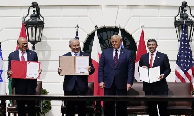 Ситуация на Ближнем Востоке после подписания соглашения  Израиля с ОАЭ и Бахрейном о нормализации отношений