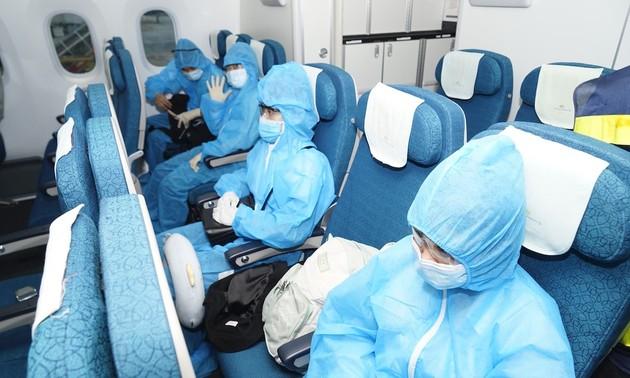 Осуществлён первый коммерческий рейс после отмены из-за пандемии коронавируса