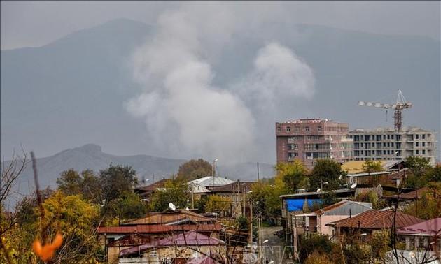 Лидеры РФ, Армении и Азербайджана: Режим прекращения огня в Нагорном Карабахе соблюдается