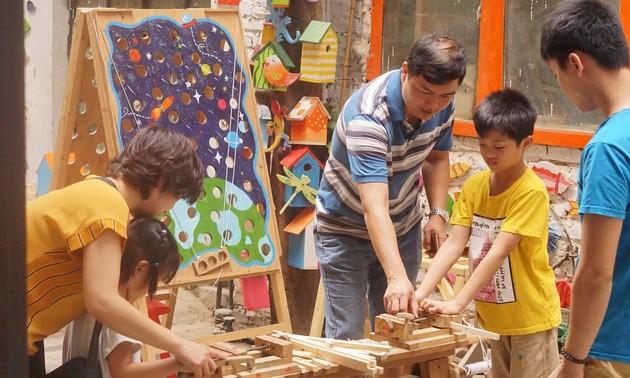 Creative Gara - столярный цех для детей