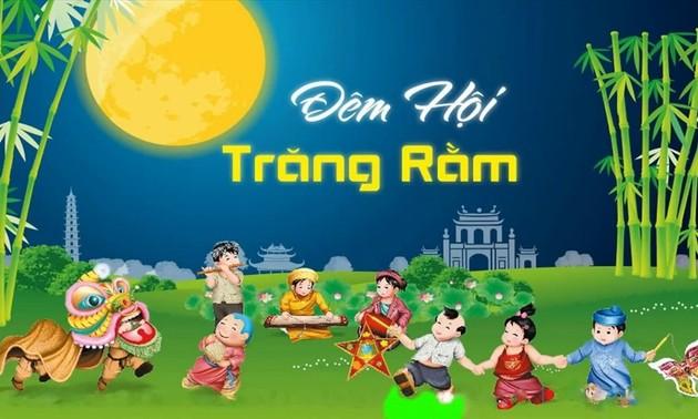 В Ханое в онлайн-режиме прошла художественная программа, посвящённая детскому Празднику середины осени