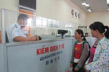 Tăng cường giám sát dịch bệnh, kiểm dịch y tế tại các cửa khẩu