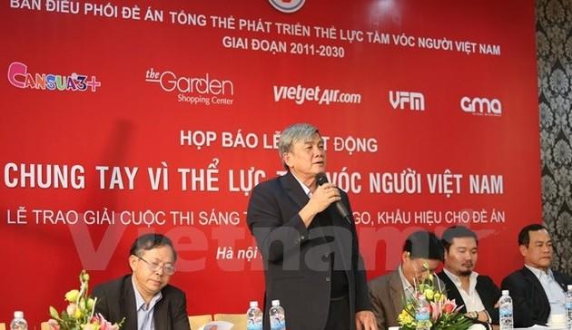 """Lễ phát động: """"Chung tay vì thể lực, tầm vóc người Việt Nam"""""""