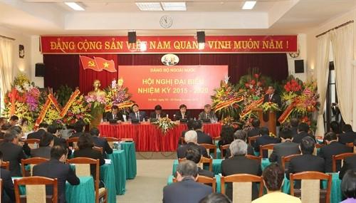 Hội nghị đại biểu Đảng bộ Ngoài nước nhiệm kỳ 2015-2020