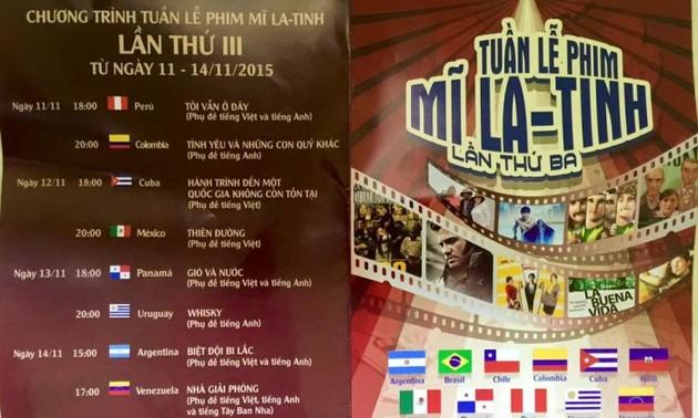 Tuần lễ phim Mỹ La-tinh lần thứ ba tại Hà Nội