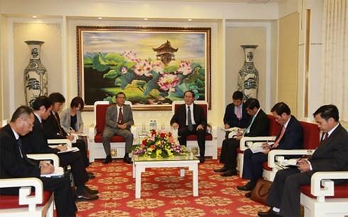 Bộ trưởng Trần Đại Quang tiếp Đại sứ đặc mệnh toàn quyền Nhật Bản tại Việt Nam