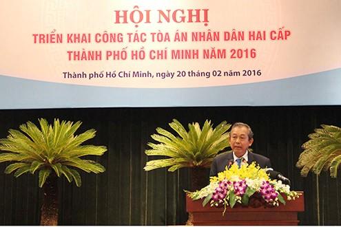 Thành phố Hồ Chí Minh nâng cao chất lượng đội ngũ thẩm phán đáp ứng yêu cầu hội nhập quốc tế