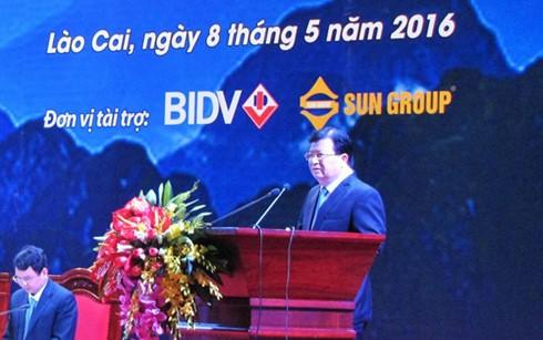 Hội nghị xúc tiến đầu tư và phát triển du lịch tỉnh Lào Cai năm 2016