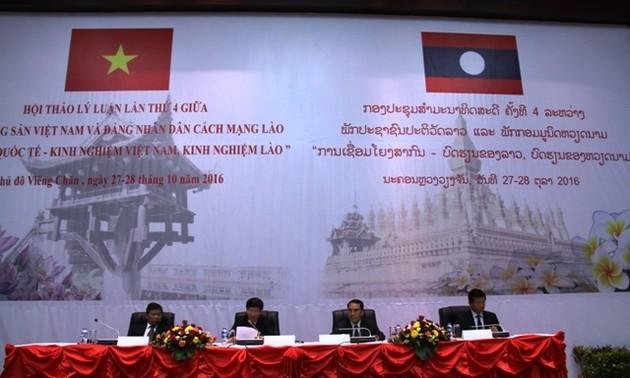 Hội thảo lý luận lần thứ 4 giữa Đảng Cộng sản Việt Nam và Đảng Nhân dân Cách mạng Lào