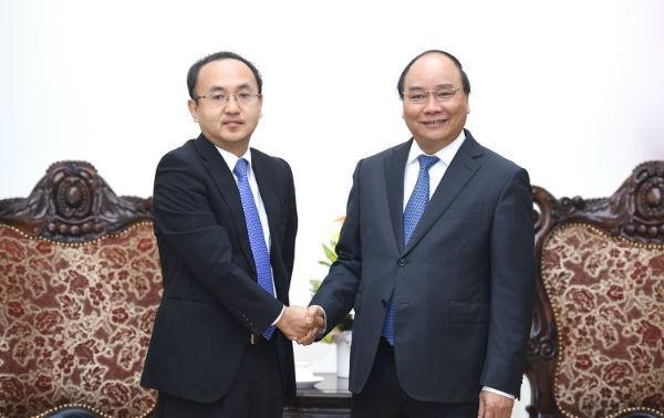 Thủ tướng Nguyễn Xuân Phúc tiếp đại diện JETRO tại Việt Nam