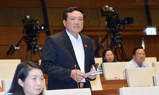 Quốc hội chất vấn Chánh án Tòa án nhân dân tối cao Nguyễn Hòa Bình