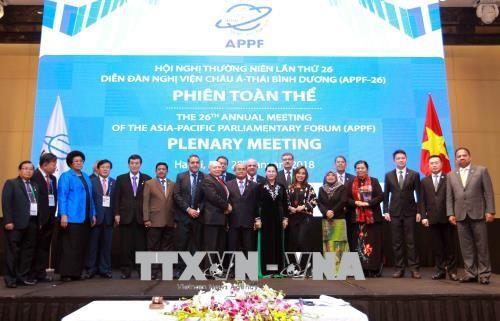 APPF 26 bế mạc, ra Tuyên bố Hà Nội